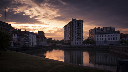 Urban Sunset (Lille, France) - Photo : Gilderic