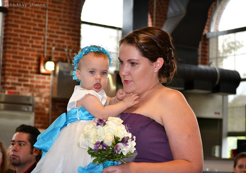 Sister - Maid of Honour and Flower Girl