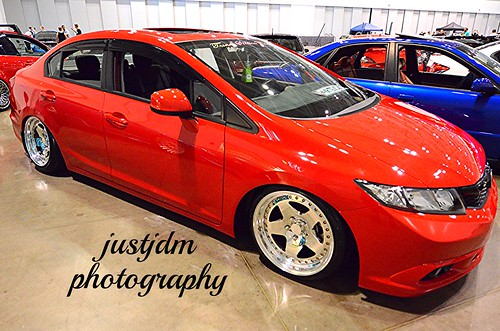 red honda civic (1)