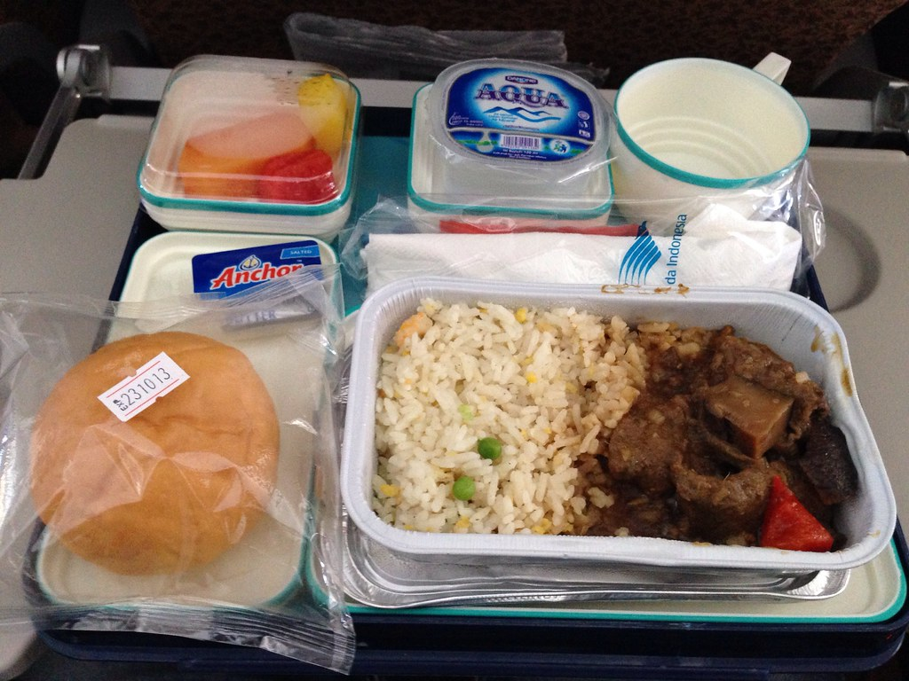 Rice with Beef Inflight Meal