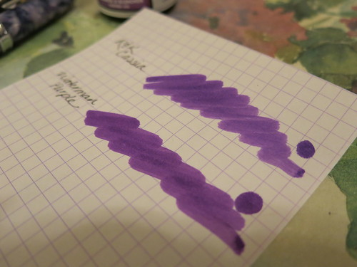 Rohrer & Klingner Cassia and Waterman Purple