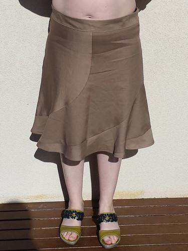 Lekala 5481 skirt - first muslin