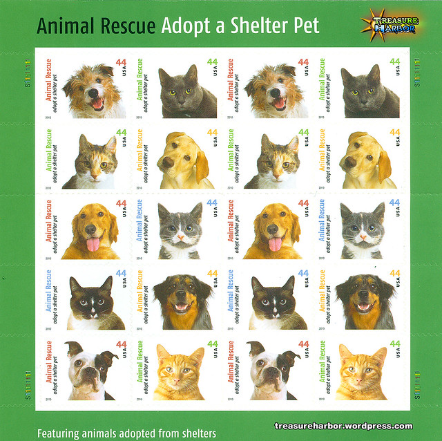 Animal Shelter Pet Stamp Set