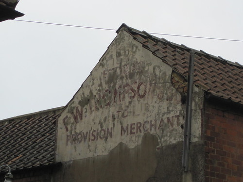 F.W. Thompson, Ampleforth Ghostsign.
