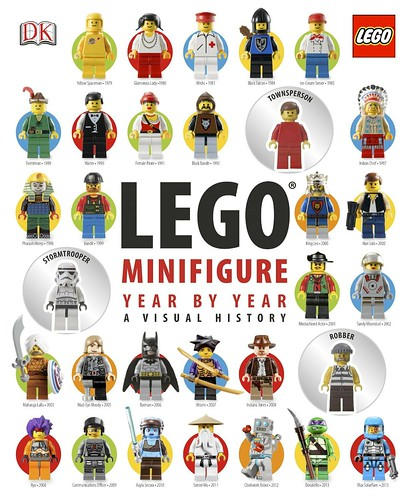 LEGO Minifigure Year by Year A Visual History cover