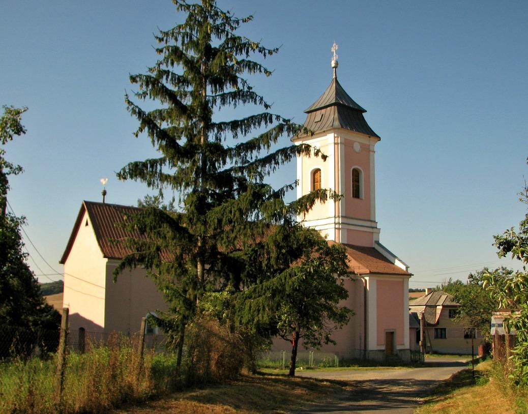 Kostol v M. Zlievcach
