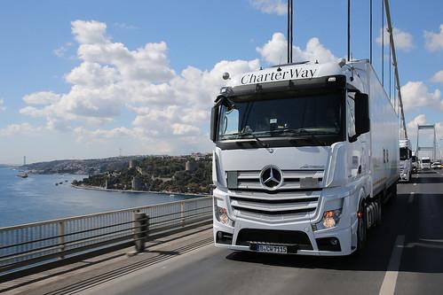 Mercedes Benz to Syria