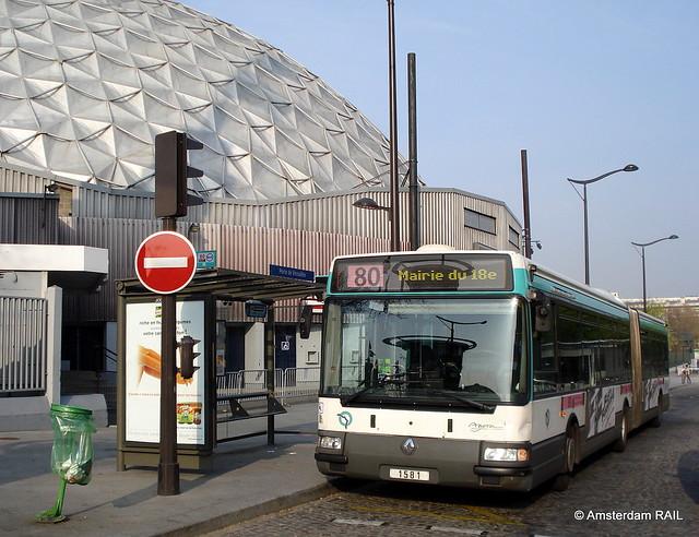 RATP 1581 @ Porte de Versailles