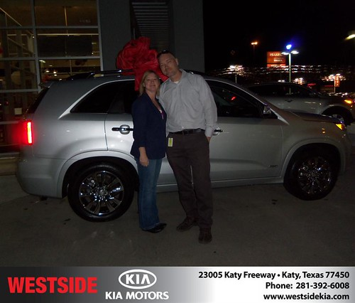 Happy Anniversary to Marc Lanning on your 2013 #Kia #Sorento from Mohammed Ziauddin and everyone at Westside Kia! #Anniversary by Westside KIA