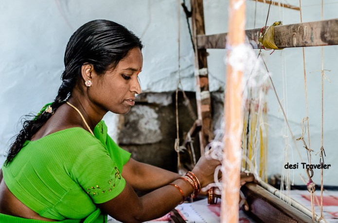 Weaver women pochampally