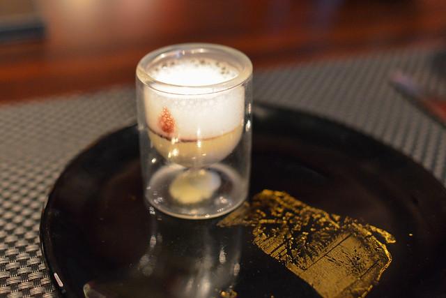 Foie Gras Mousse port wine sauce