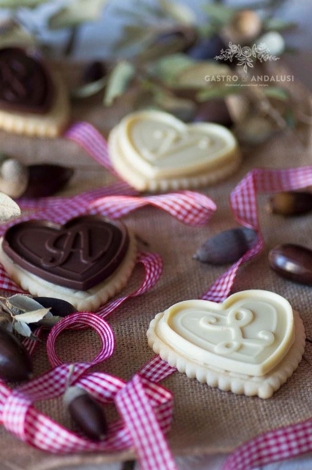 Galletas con tableta de chocolate
