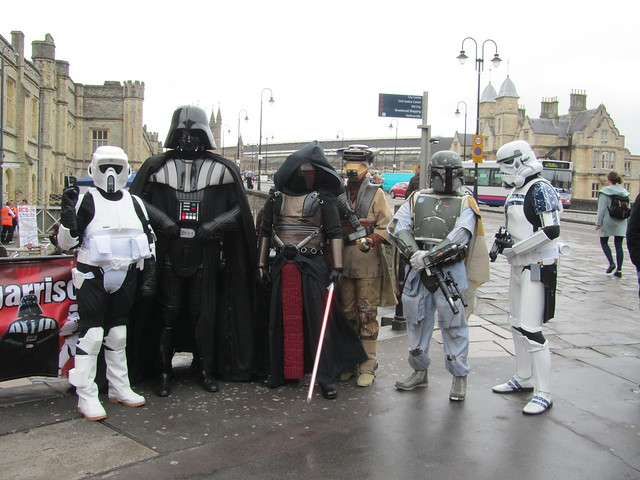 Stormtroopers at Bristol Expo 2013