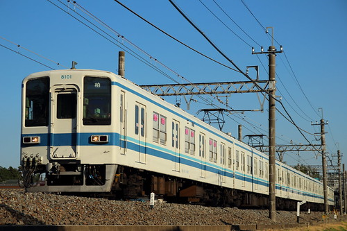 8101F @新柏〜増尾