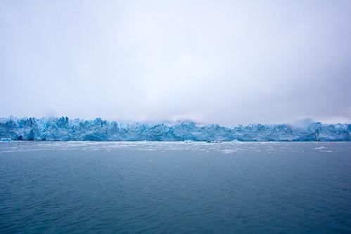 El Perito Moreno desde el barco