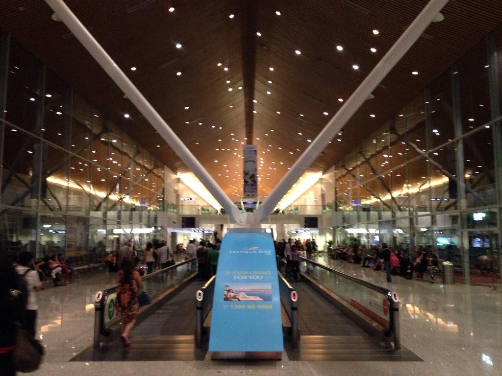 Arrival at Kuala Lumpur
