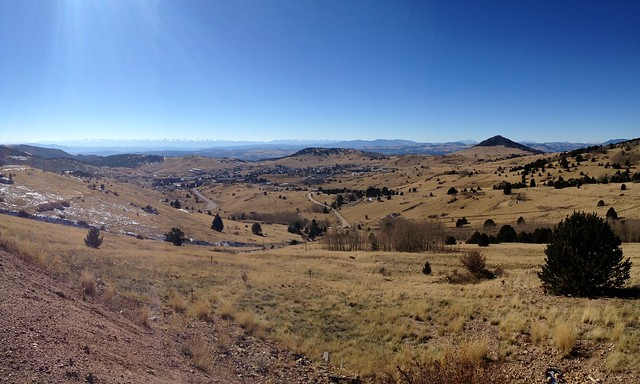 View from Lookout Above Cripple Creek, Colorado