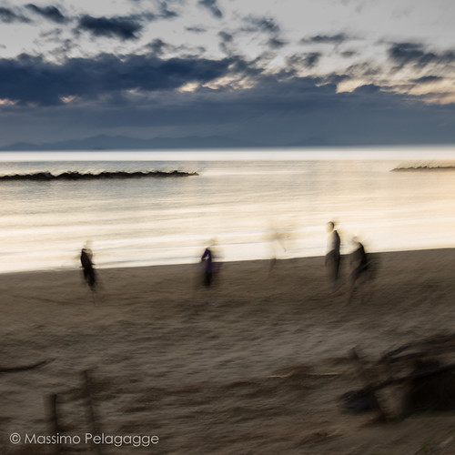 Beach Games by Massimo Pelagagge