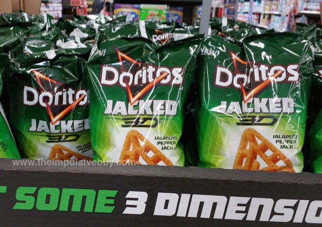 Doritos Jacked 3D Jalapeno Pepper Jack