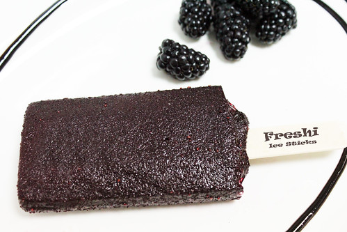 Black Berry Sorbet Stick by Freshi Ice Sticks Jeddah Saudi Arabia