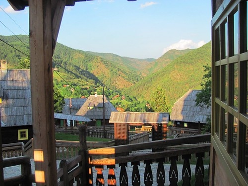 Drvengrad, Serbia-Hotel Mecavnik View from Room