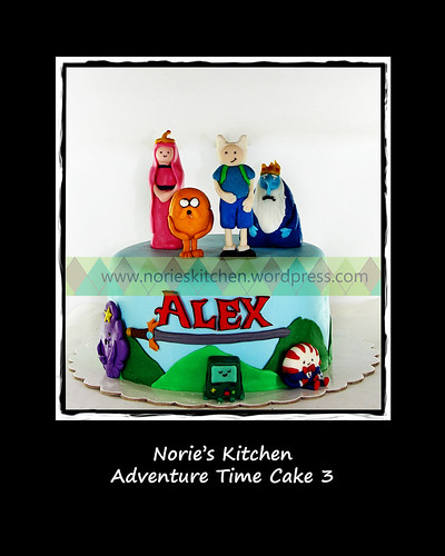 Norie's Kitchen - Adventure Time Cake 3 by Norie's Kitchen
