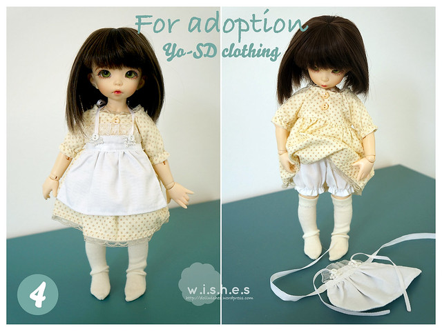 FOR ADOPTION: Yo-SD clothing