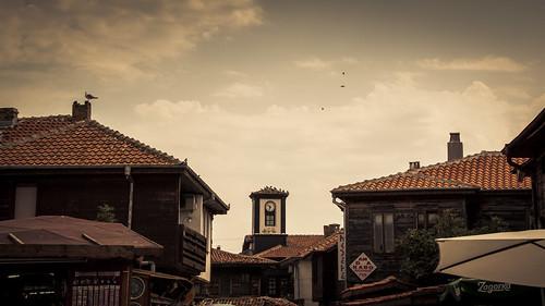 The Birds (Thank You, Mr Hitchcock) - Nessebar, Bulgarie - Photo : Gilderic