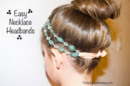 Easy Necklace Headband