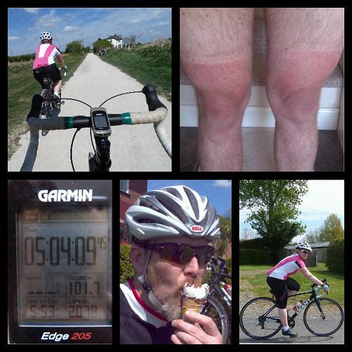 The two milestones ride by rOcKeTdOgUk