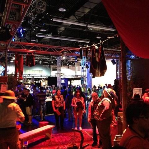 Adventure Trading Postのプレイテストに参加。WDWにかつてあったAdventurer's Clubの「Kungaloosh!」が合言葉。