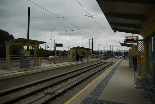 Ashton West station (southbound)