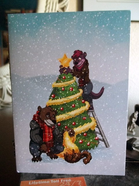 Syr's and Bear's card