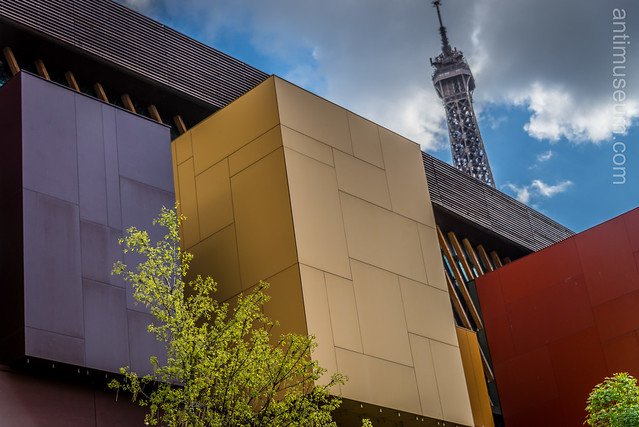 Quai Branly and Eiffel Tower
