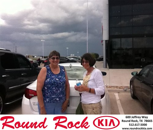 Thank you to Dorris  Little on the 2013 Kia Optima from Timmy Wiles and everyone at Round Rock Kia! by RoundRockKia