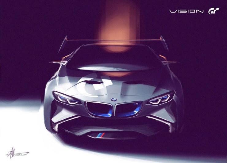 BMW Vision for Grand Turismo