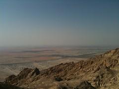Panorama dal Jebel Hafeet