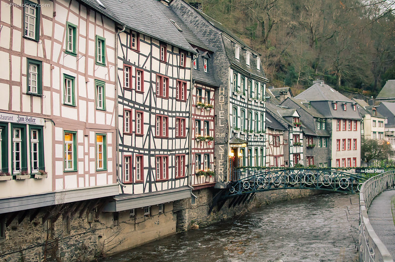 half timbered houses, case Germania structura lemn