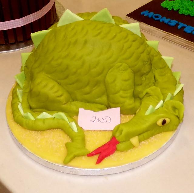 Dragon Cake by Sally Simpson