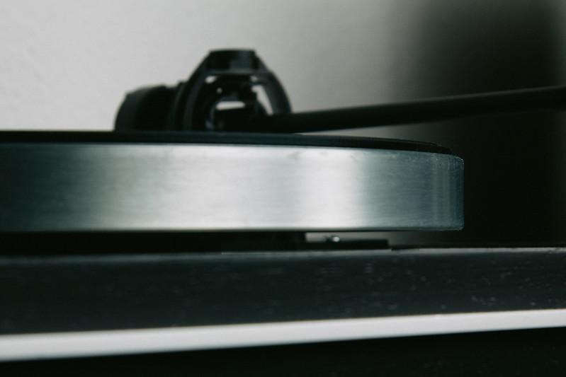 Thorens TD166 - Close-up platter