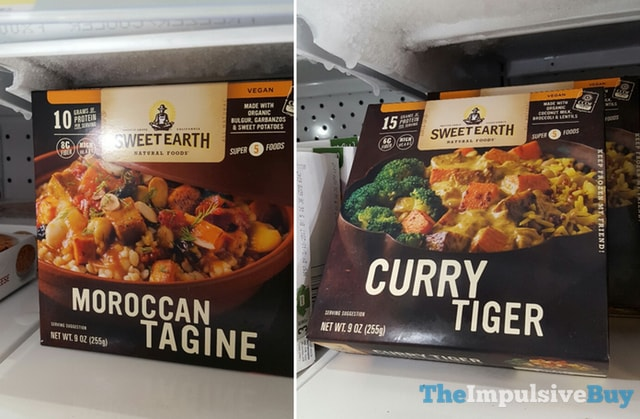 Sweet Earth Natural Foods Moroccan Tagine and Curry Tiger