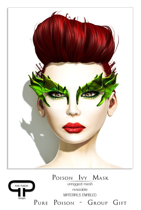 Pure Poison - Poison Ivy Mask - 2nd October Gift