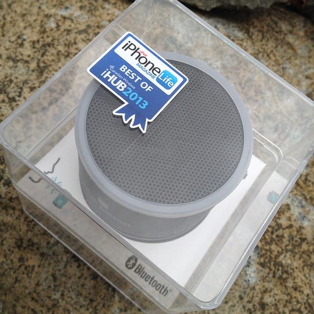 Blue Piston Wireless Rechargeable Speaker