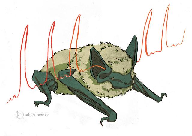 Sound Wave Bat - Urban Hermits