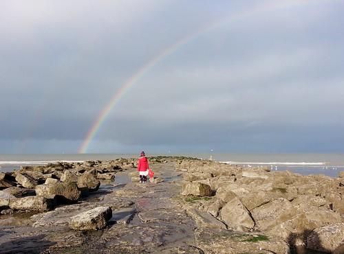 Nieuwpoort, Zita met regenboog