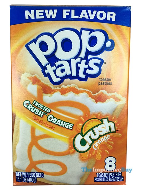 Kellogg's Frosted Crush Orange Pop-Tarts
