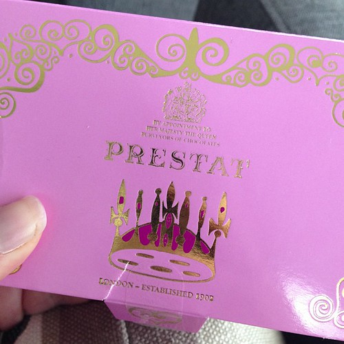 I spent £20 on chocolate at Harrod's today because this is. the. most. amazing chocolate I have ever tasted.