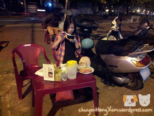Lang thang quận 7 - Chè khúc bạch quả Cư xá Ngân hàng