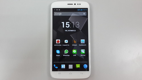 i-mobile IQ9.1 ด้านหน้า