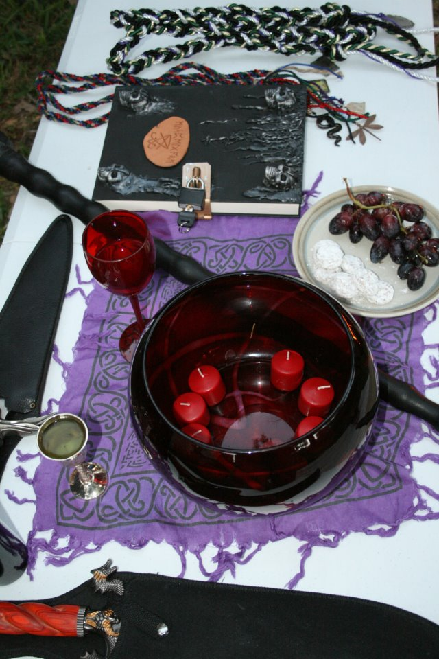 The Handfasting Alter
